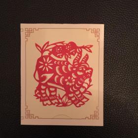 【新春好礼】中国非物质文化遗产纯手工工艺品——剪纸(生肖牛系列)