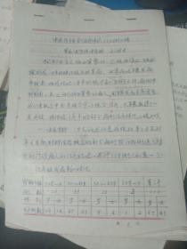 中医论文 中西医结合治疗中风110例小结(手写底稿),