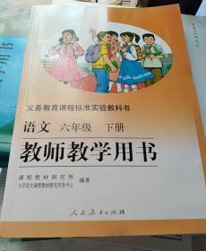 教师教学用书六年级下册