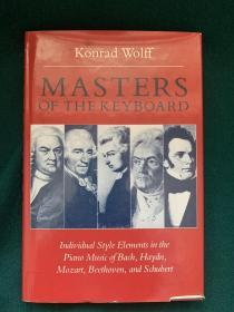 Masters on the keyboard【琴键上的大师:巴赫、海顿、莫扎特、贝多芬和舒伯特钢琴作品中的个人风格因素】【古典音乐相关】