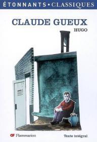 Claude Gueux克洛德·格,法国作家维克多·雨果作品,法文原版