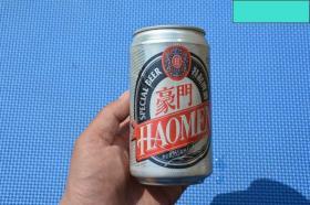 90年代 玉田县豪门啤酒 老铝罐 老罐子 易拉罐 老物件摆设