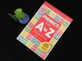英文原版 A-Z学语音指南 Phonics from A to Z: A Practical Guide 自然拼读法使用指南从A到Z 英文原版 学乐儿童小学英语自然拼读教学教材 英文版进口教辅书