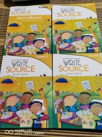 WRITE SOURCE   Grade2内部教材【4册合售】目录如图