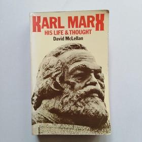 Karl Marx: his life and thought 英国哲学家麦克莱伦:马克思评传