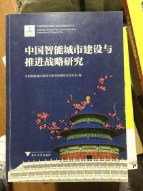 中国智能城市建设与推进战略研究