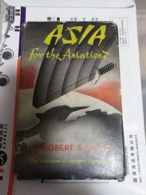 1945年出版 ASIA FOR THE ASIATICS THE Thchniques of Japanese Occupation,内涉及众多中国内容