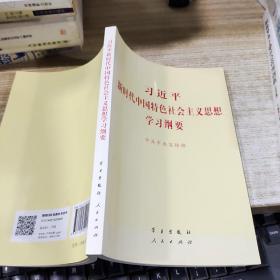 习近平新时代中国特色社会主 义思想学习纲要   平装