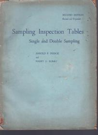 Sampling Inspection Tables、Single and Double Sampling
