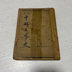 民国版--订正中国文学史(存下册)