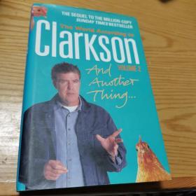 英文原版 The World according to Clarkson and another thing