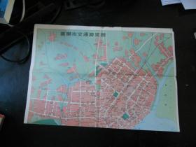 襄樊市交通旅游图