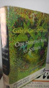 1970年英文一版  One Hundred Years of Solitude《百年孤独》英文译本,格里高利·拉巴萨翻译,