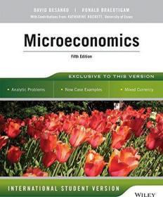 Microeconomics  David Besanko 英文原版 戴维·贝赞 微观经济学 战略经济学