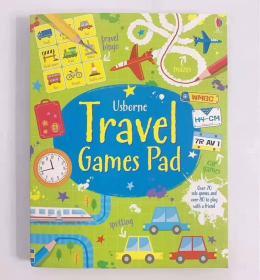 Travel Games PadU社旅行活动游戏书