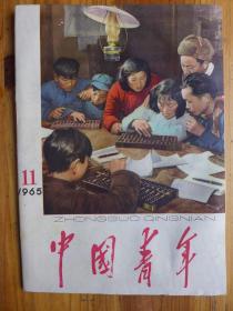 中国青年1965年第11期 靳冠山年画《种子实验》歌曲《美帝必败》毛泽东《支持多米尼加人民反对美国武装侵略的声明》