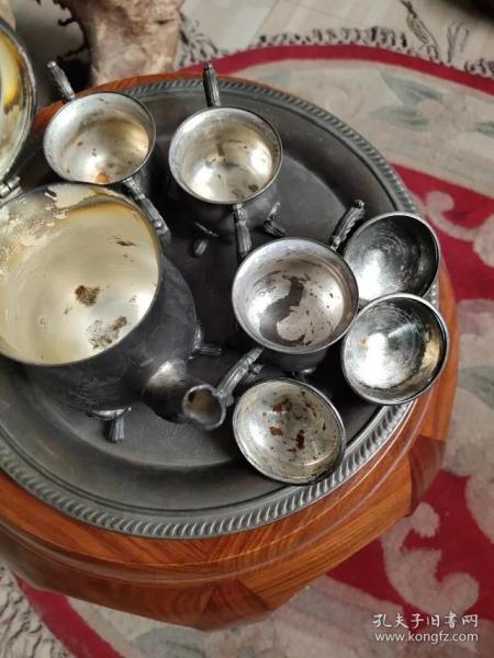 民国咖啡壶、银壶