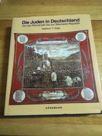 Die Juden in Deutschland Von Der Romerzeit Bis Zur Weimarer Republik(德国的犹太人:从罗马时期到魏玛王朝)大量历史图片(精装德语、德文12开大本,1997年出版)