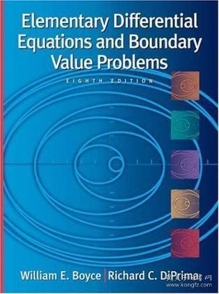 特价:Elementary Differential Equations and Boundary Value Problems , 8th Edition, with ODE Architect CD