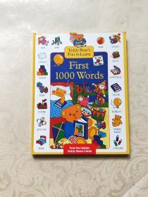Teddy Bears Fun to Learn First 1000 Words