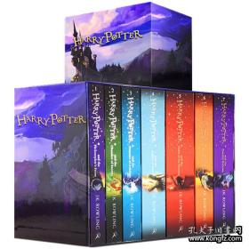 英文原版 英国印刷 Harry Potter Box Set: The Complete Collection 哈利波特全集英文版原版书籍 Harry Potter 1-7全套英版 进口珍藏