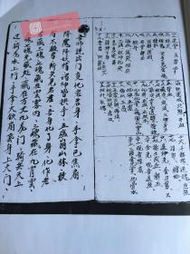 【复印件】罕见黑白术数类手抄本: 三洞梅山,本店此处销售的为该版本的仿古道林纸无线胶装平装、原色色高清。
