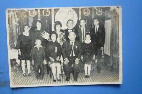 民国结婚留念照相(吴李联婚)(男家合照)