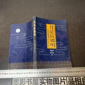 月是故乡明 大陆籍台湾作家研究