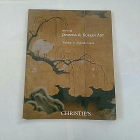 英文版,纽约~佳士得2012〈日韩 代表艺术品 拍卖图册
