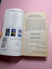 David Baldacci Simple Genius 全英文 外文原版