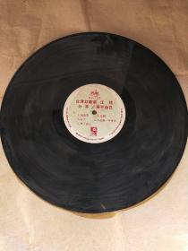 黑胶唱片-(台湾红歌手 江玲 )分手/身不由己  裸片