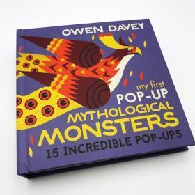 预售我的第一本神话怪兽立体书My First Pop-Up Mythological Monsters