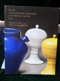 Christie's New York fine Chinese ceramics and works of art part1 2872A 2014 September18-19纽约佳士得2014秋拍 中国陶瓷艺术精品专场1图录