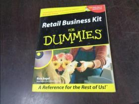 RETAIL BUSINESS KIT FOR DUMMIES (附光盘1张)零售业务套件的傻瓜