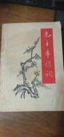 文革红宝书:1968年【毛主席诗词】32开本私藏无字无章自然旧(附毛像一张)