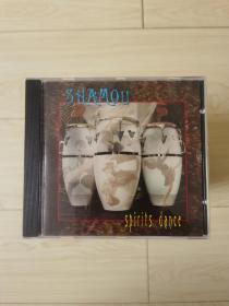 原版老CD唱片 shamou - spirits dance 灵魂之舞 鼓与人声  新世纪音乐系列