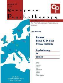 European Psychotherapy 2011,欧洲精神疗法2011年鉴,英文原版