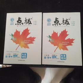 荣德初中系列·特高级教师点拨:8年级数学(上.下)(R版)两册合售