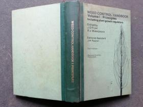 WEED CONTROL HANDBOOK     杂草防除手册 第1卷   原理  第6版