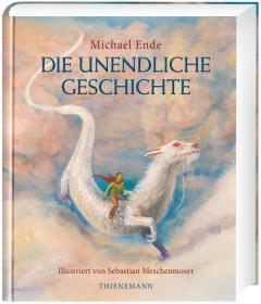 预售德国原版永远讲不完的故事珠宝版插画版世界十大奇幻作品德国著名作家迈克尔恩德插画师塞巴斯蒂安