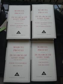 In Search Of Lost Time (4 Volumes) 追忆似水年华 四本合售 Proust, Marcel 马塞尔·普鲁斯特 everymans library 人人文库 英文原版 布面精装 人人文库能够保证相同品相全网最低价;全网最全卖家,私藏近300种