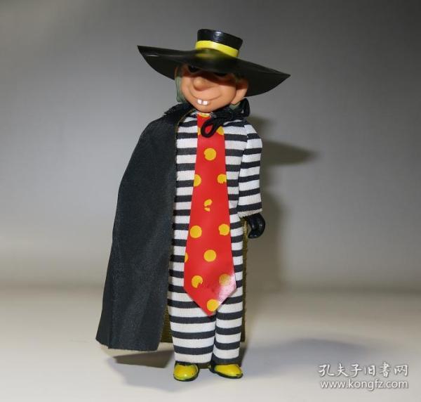70年代香港制造绝版麦当劳玩具!汉堡神偷