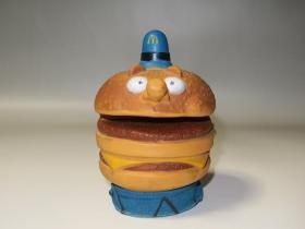 70年代美国制造绝版麦当劳玩具!麦当劳手套人偶巨无霸(白眼版)