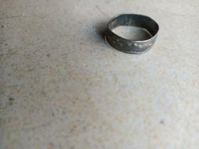 清代足银戒指