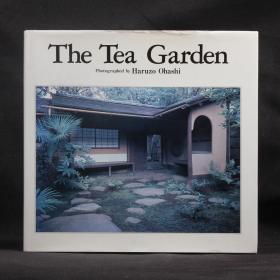 日本原版 大橋治三 攝影集 茶庭  The Tea Garden【精裝大開本 英日雙語版】