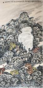 谢定超《山水》中国美术家协会会员,四川省美术家协会理事,四川省诗书画院特聘画师,四川省政协委员。