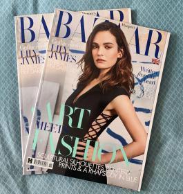 英国版HARPER`S BAZAAR 芭莎2020年11月 英文时尚女士服装杂志