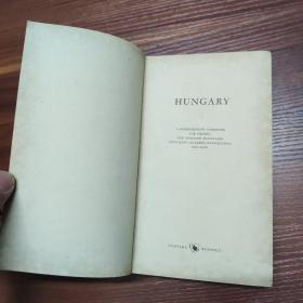 HUNGARY(匈牙利)--外文原版精装