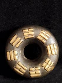 收得老郎中虎撑医铃串铃,纯铜,包浆浓厚,做工精致,保存完整,正常使用