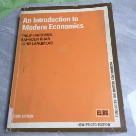 an introduction to modern economics 馆藏 无笔迹